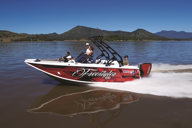 quintrex freestyler range 630 apex hull