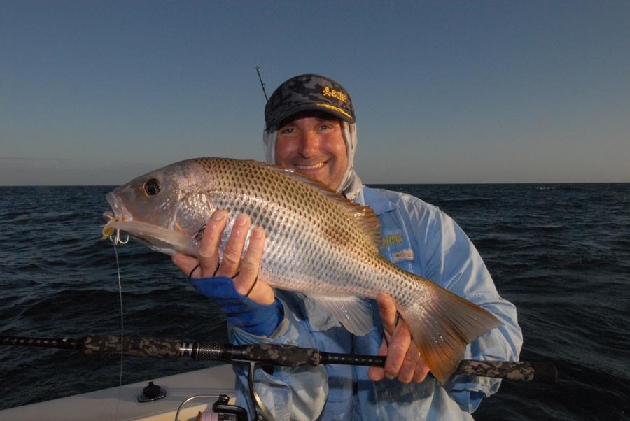 weipa fishing fingermark