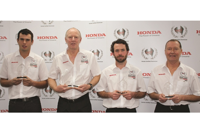 honda marine excellence award