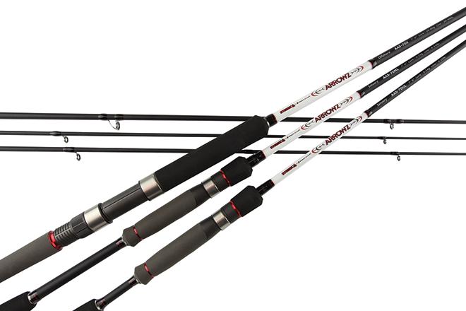 atomic arrowz two-piece rods