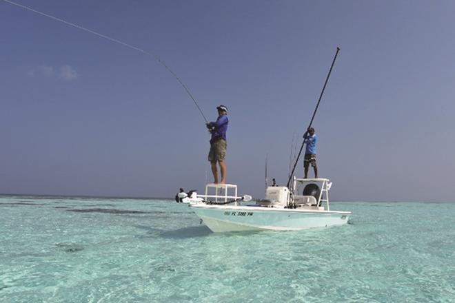 fly fishing virgin flats maldives como