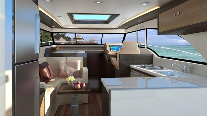 luxury segment boats