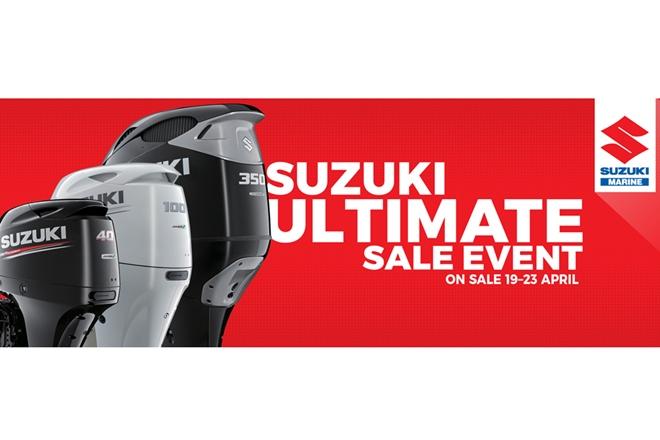 suzuki marine ultimate 4 day sale event