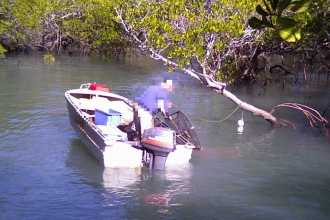 fined $10,000 for crab pot interference