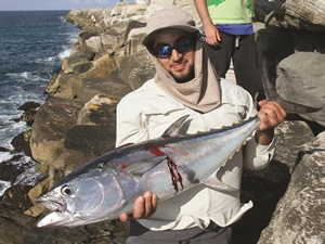 land-based longtail tuna iluka breakwall