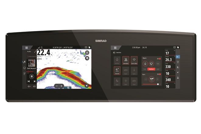 navico digital information displays