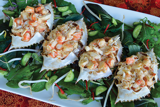 Stuffed crab shells recipe