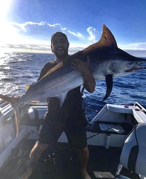 rain doesn't dampen fishing gold coast