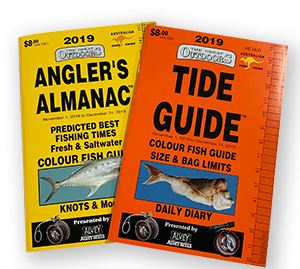 angler's almanac tide guide moon fishing