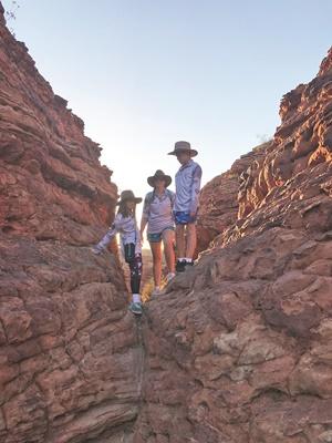kings canyon caravanning