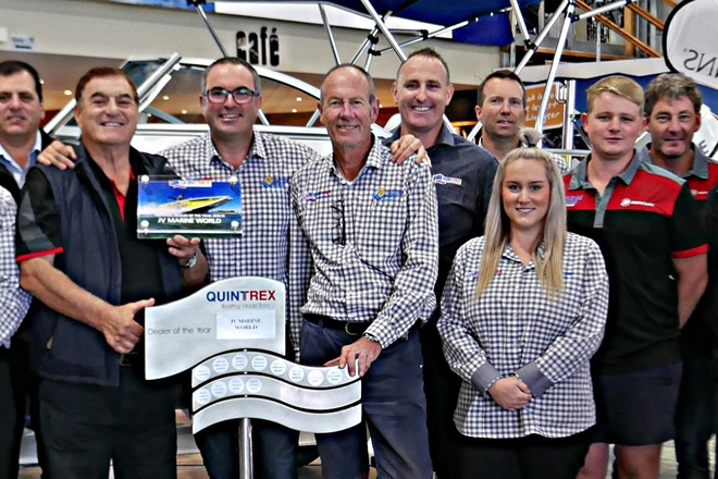 Quintrex crowns its National and State Dealer of the Year winners