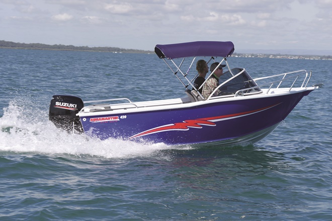 Aquamaster 420 Runabout – boat review