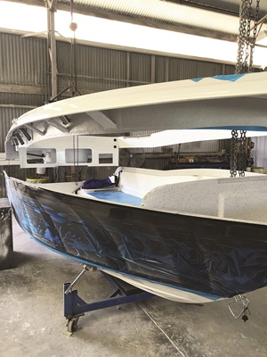 cruise craft f360m boat build