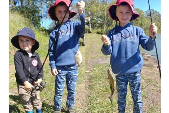 target burnett river fishing