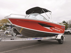 Quintrex 450 Fishabout Pro runabout