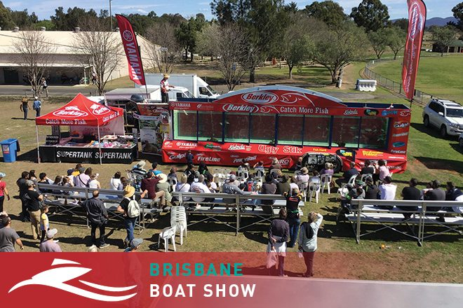 Fishing masterclasses at Brisbane Boat Show included with entry