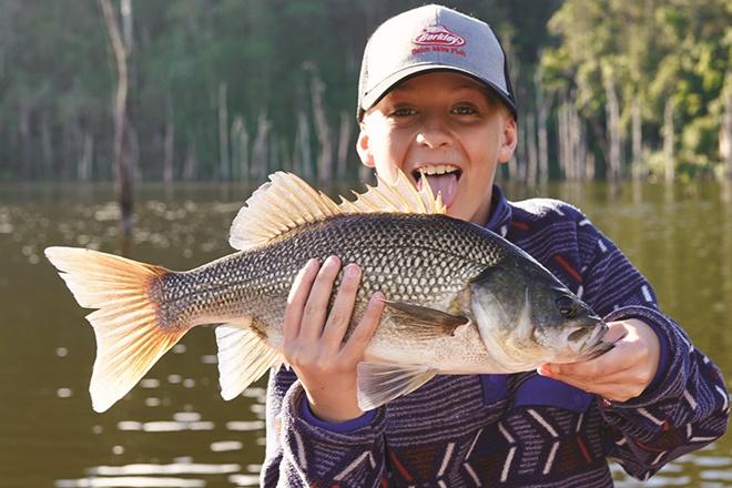 fishing lake borumba untapped fishing