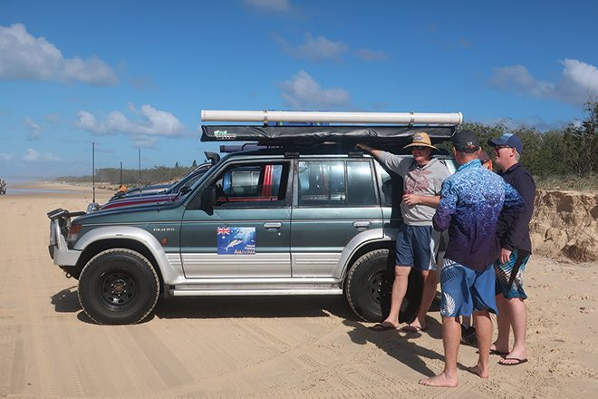 4WDing and fishing tips for Fraser Island