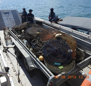 ghost crab pots
