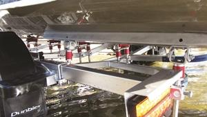 rollashocks boat roller shock absorbers