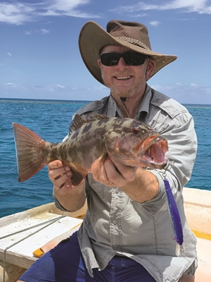 swain reefs charter fishing trip carlo fishing charters