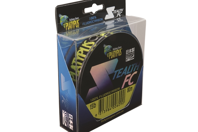 platypus stealth fc fluorocarbon leader