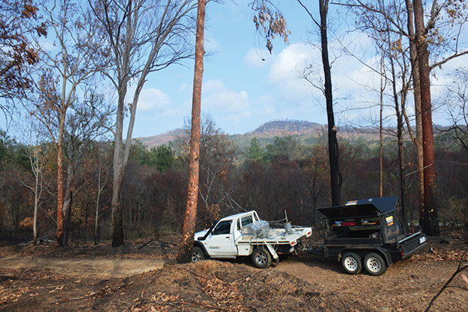 fire volunteer help bushfires