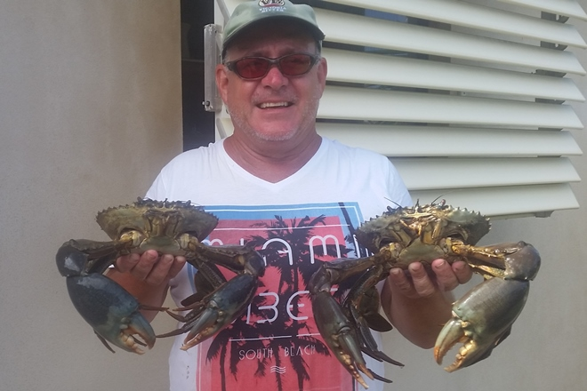 throw crab pots in