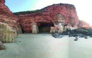 Pender Bay caves
