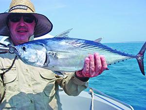 months fishing Moreton