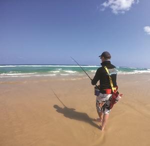fishing beach whiting